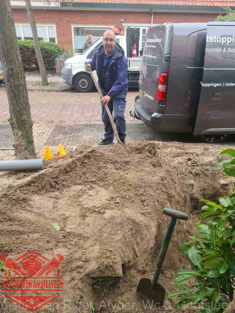 Riool ontstoppen Amstelveen graven